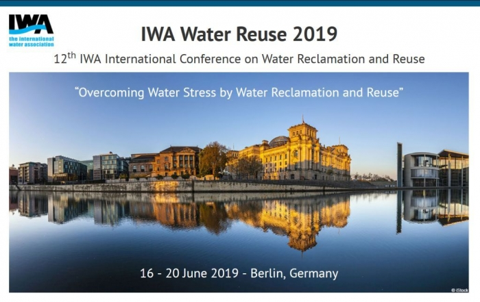 12th IWA International Conference on Water Reclamation and Reuse @ Mercure Hotel MOA Berlin