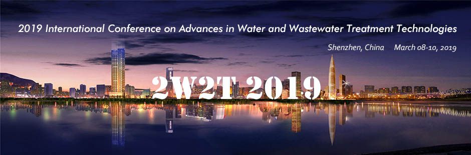 2019 International Conference on Advances in Water and Wastewater Treatment Technologies