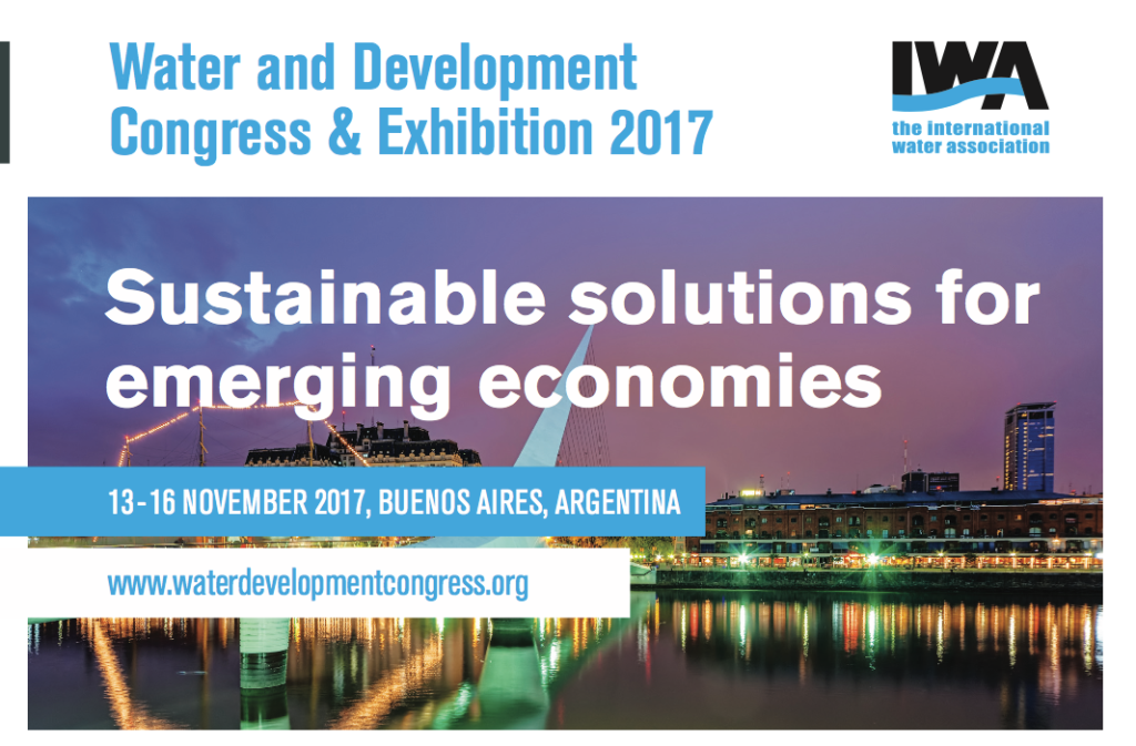 Water and Development Congress & Exhibition 2017 @ Buenos Aires | Buenos Aires | Argentina