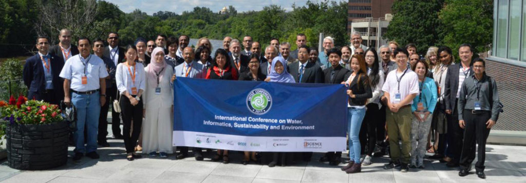 International Conference on Water, Informatics, Sustainability, and Environment 2019 @ Richcraft Hall, Carleton University