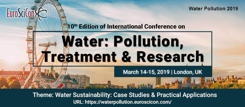 2019 International Conference on  Water: Pollution, Treatment & Research