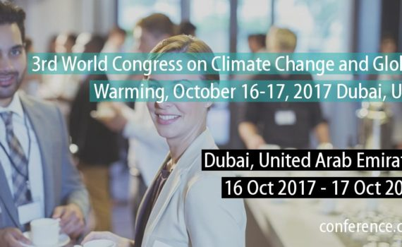 World Congress on climate change and global warming