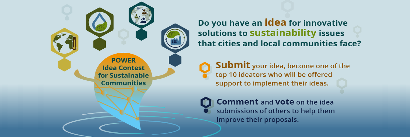 POWER Idea Contest for Sustainable Communities